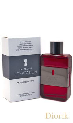 Antonio Banderas THE SECRET TEMPTATION - TESTER