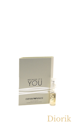 Giorgio Armani EMPORIO ARMANI BECAUSE IT`S YOU - 2017 - vial spray