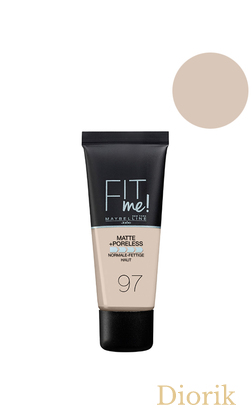 Maybelline Fit Me Matte Poreless Foundation Тональный крем 097