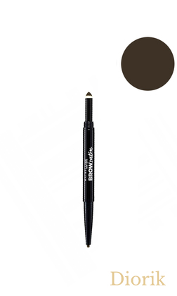 Maybelline Brow Satin Duo Brow Карандаш для бровей NU5 Black Brown