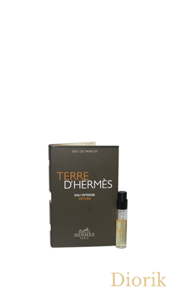 Hermes TERRE d'HERMES EAU INTENSE VETIVER - 2018 - vial spray