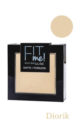 Maybelline Fit me Matte&Poreless Powder Пудра для лица 110 porcelain