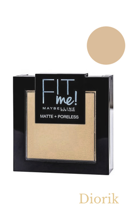 Maybelline Fit me Matte&Poreless Powder Пудра для лица 115 ivory