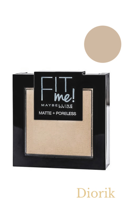 Maybelline Fit me Matte&Poreless Powder Пудра для лица 120 classic ivory