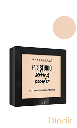 Maybelline Face Studion Setting Powder Пудра Матирующая 009