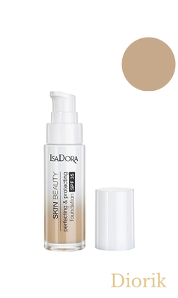 IsaDora Skin Beauty Perfecting&Protecting SPF35 Тональная основа для лица 04 sand