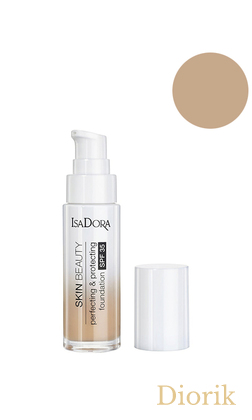 IsaDora Skin Beauty Perfecting&Protecting SPF35 Тональная основа для лица 06 natural beige