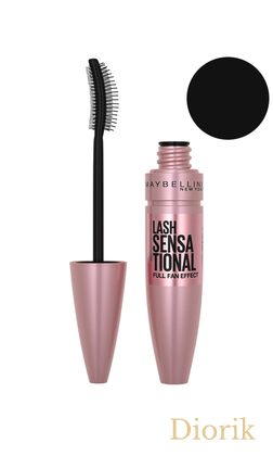 Maybelline Lash Sensational Midnight Black Тушь для ресниц