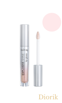 IsaDora Explosive Shine Lip Gloss Блеск для губ 81 Diamond Crush