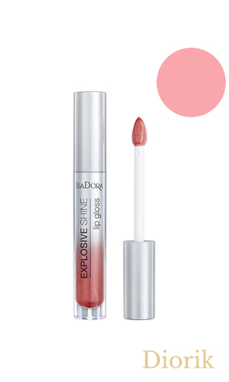 IsaDora Explosive Shine Lip Gloss Блеск для губ 83 Red Attraction
