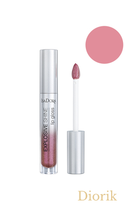IsaDora Explosive Shine Lip Gloss Блеск для губ 84 Purple Shine
