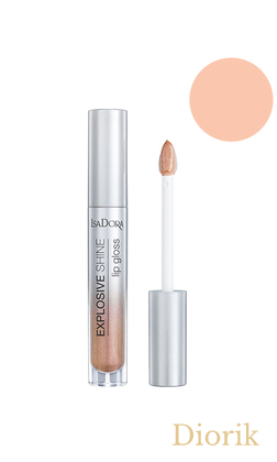IsaDora Explosive Shine Lip Gloss Блеск для губ 85 Nude Sharkle