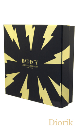 Carolina Herrera Bad Boy - 2019 ( 100ml EDT+ 100ml гель для душа)