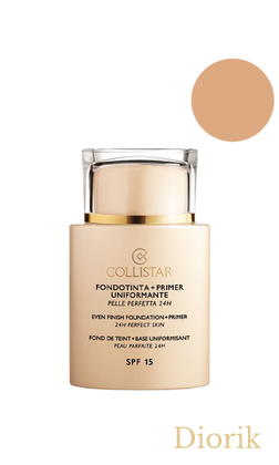 Collistar K43373 Foundation Primer Perfect Skin Smoothing 24H SPF15 TESTER - 3 sand