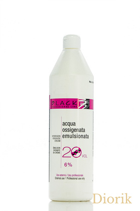 Black Cream Hydrogen Peroxide Оксидант 6%