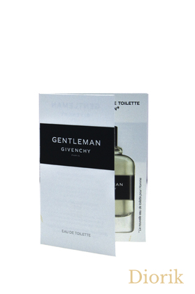 Givenchy GENTLEMAN - 2017 - vial spray