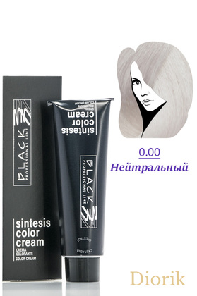 Black Sintesis Color Creme Краска для волос 0.00 нейтральный