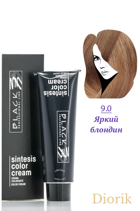 Black Sintesis Color Creme Краска для волос 9.0 светлий блондин